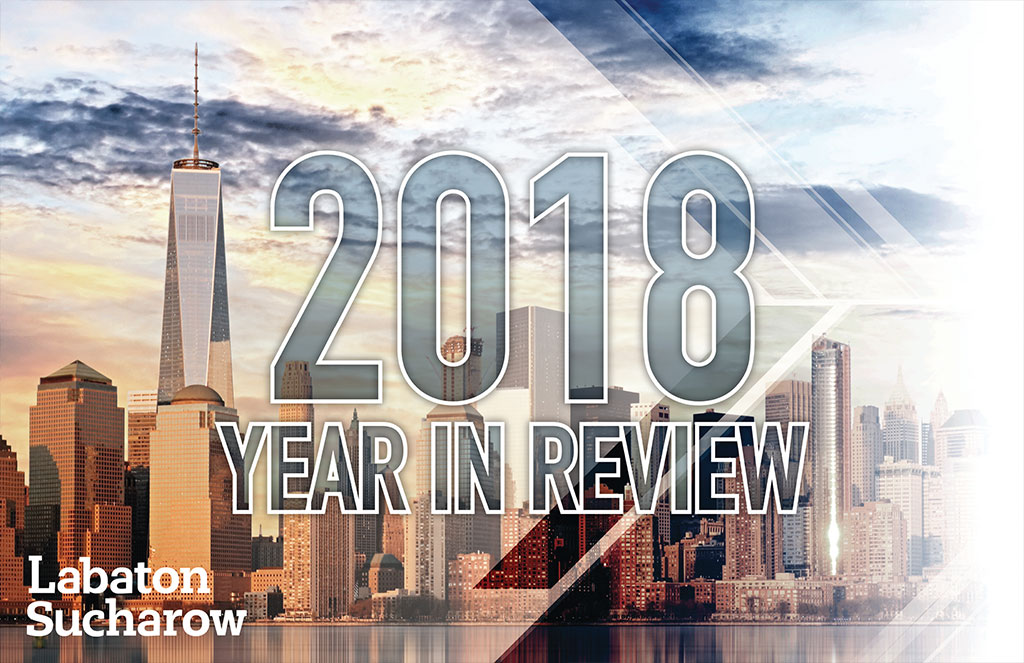 Labaton Sucharow 2018 Year in Review